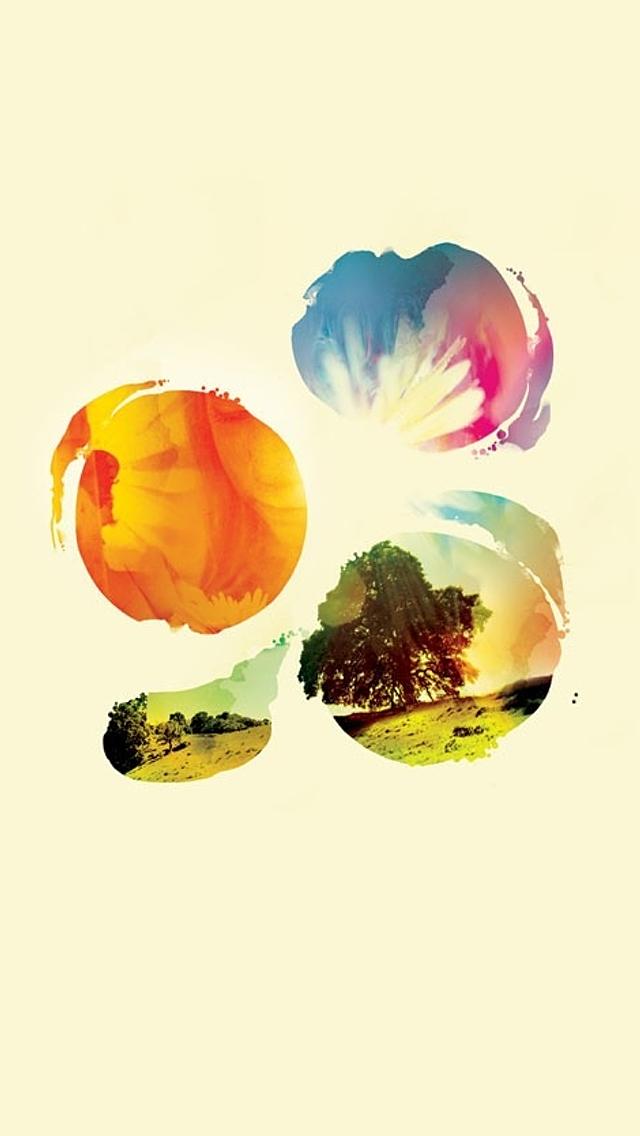 Sunlight iPhone5 スマホ用壁紙