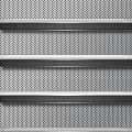 穴の開いたメタル調のiPhone5 スマホ用壁紙