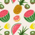 フルーツ盛り合わせ iPhone5 スマホ用壁紙
