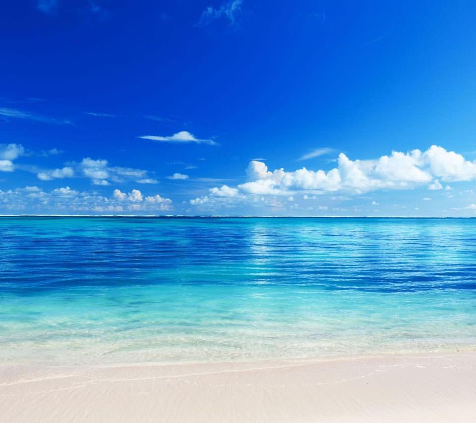 BLUE OCEAN Androidスマホ壁紙