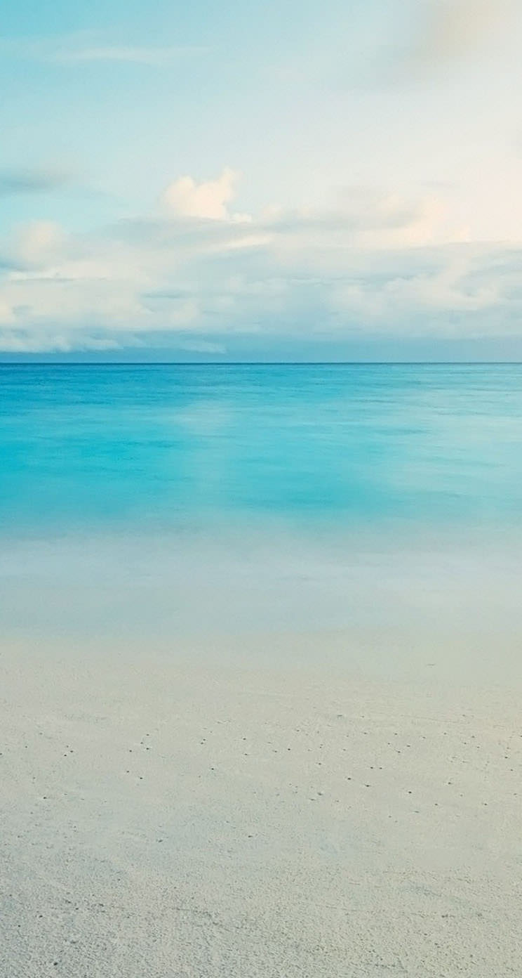 透き通った砂浜 Iphone5 スマホ用壁紙 Wallpaperbox