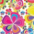 カラフル・フラワー iPhone5 スマホ用壁紙