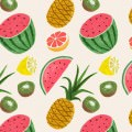 沢山のフルーツ iPhone5 スマホ用壁紙