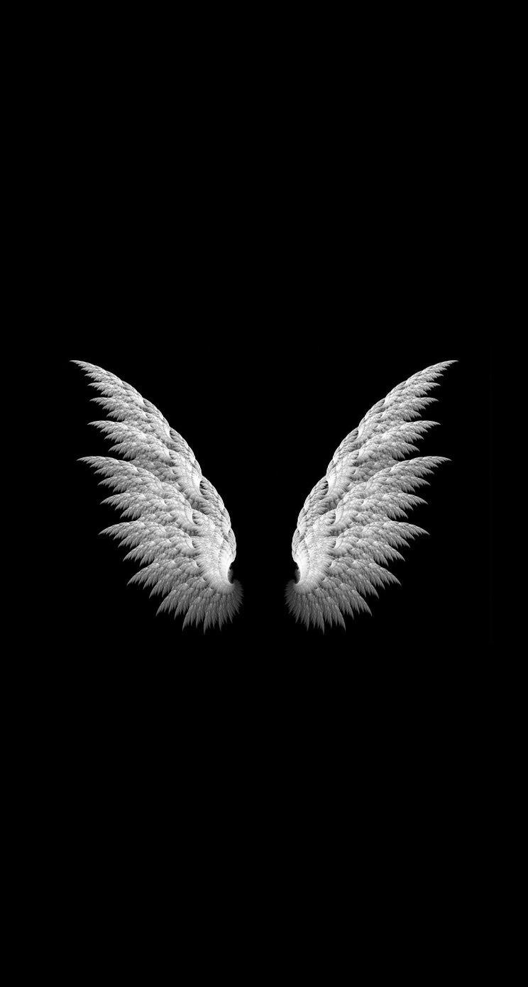 天使の羽 iPhone6壁紙