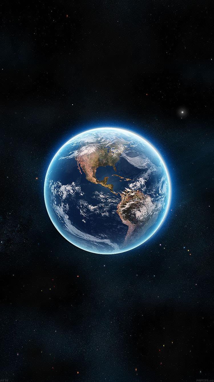 Blue Earth Iphone6 壁紙 Wallpaperbox