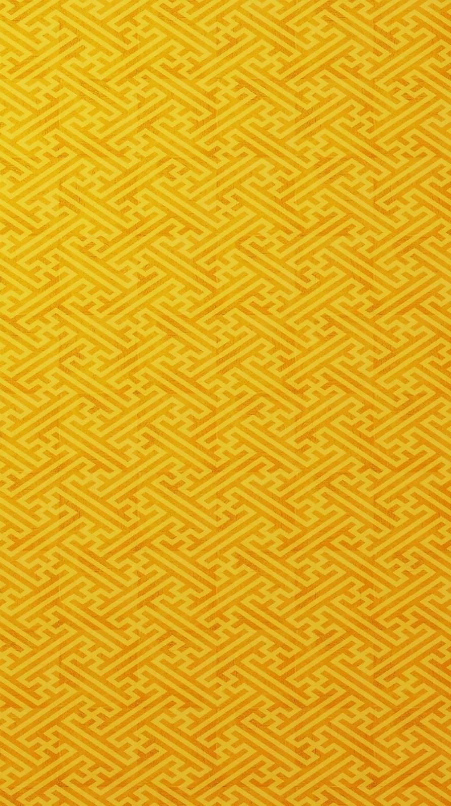 黄色の複雑なアブストラクト Iphone6壁紙 Wallpaperbox