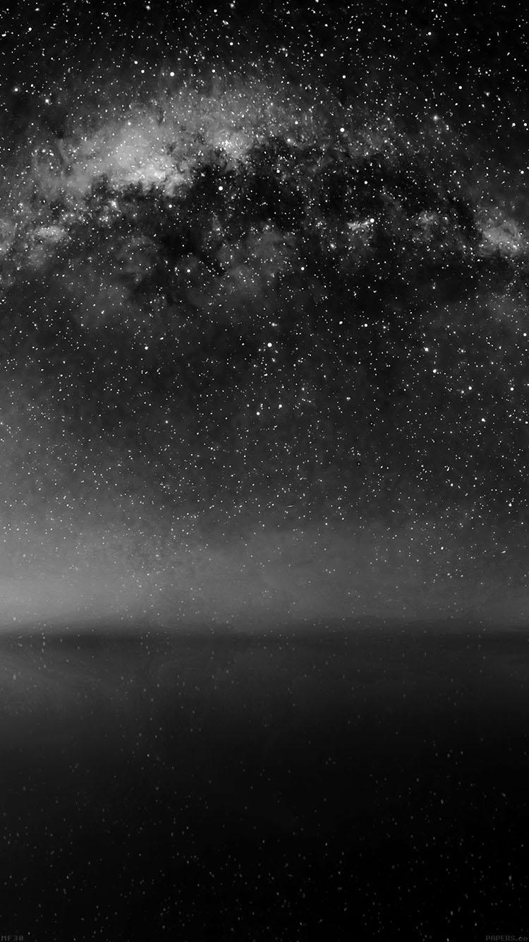星降る夜 iPhone6壁紙
