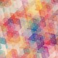 カラフルなパターン iPhone6壁紙