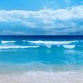晴天時の海 iPhone6 壁紙