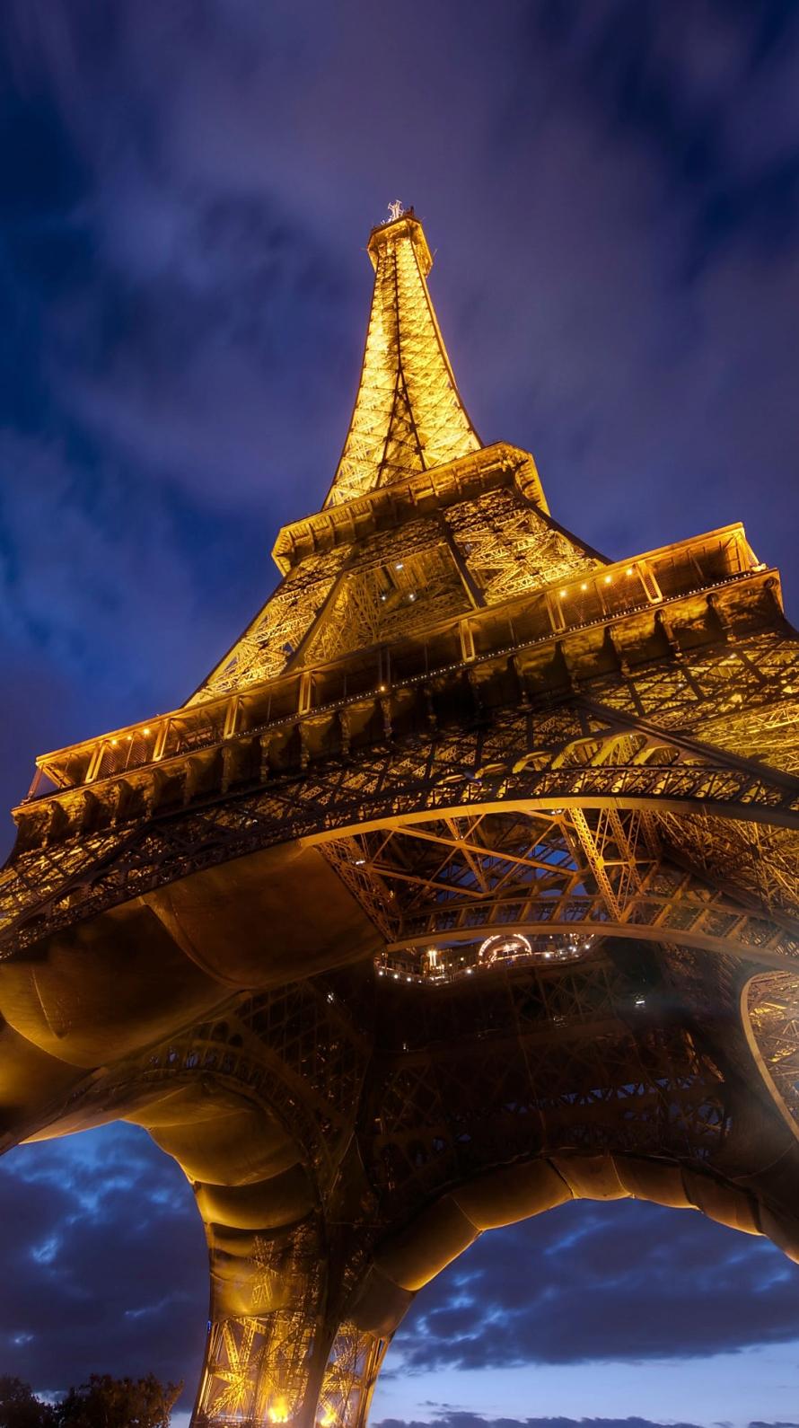 フランス パリ エッフェル塔 Iphone6壁紙 Wallpaperbox