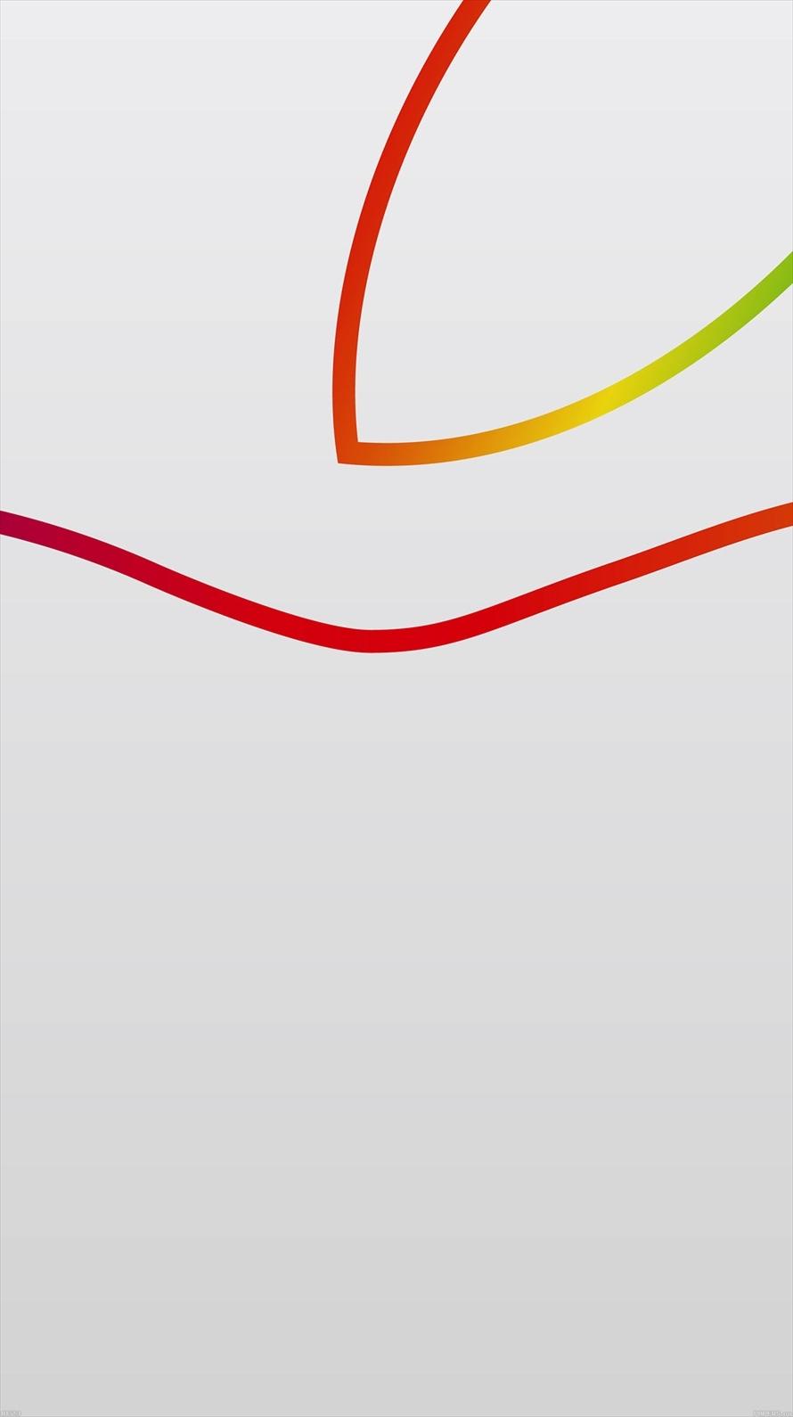 白 大きなアップルロゴ Iphone6壁紙 Wallpaperbox