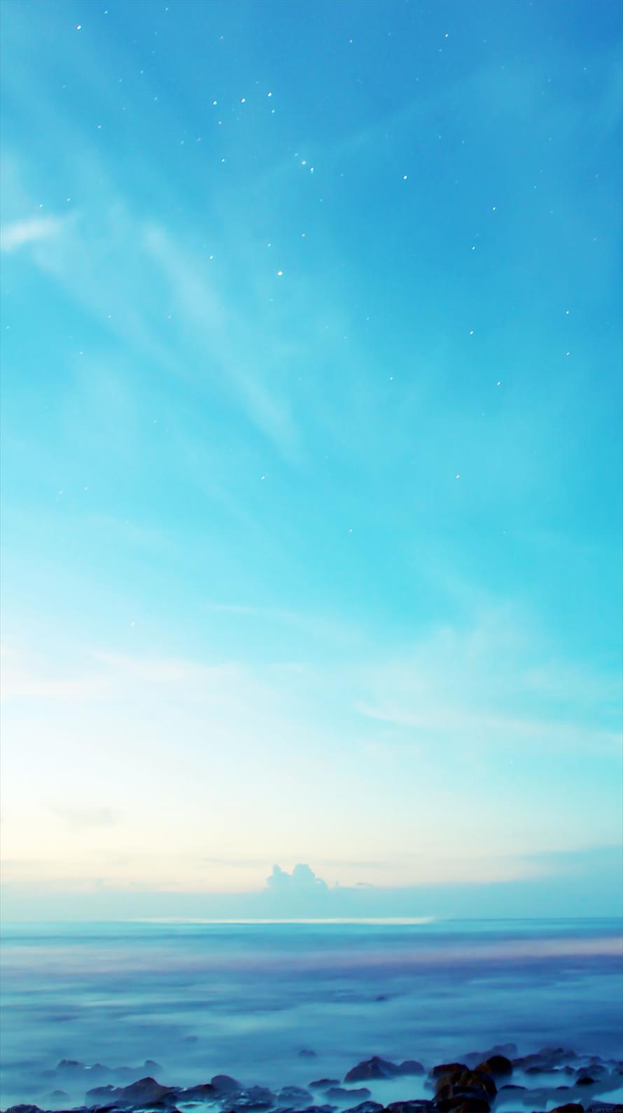 Cold Blue Scene Iphone6壁紙 Wallpaperbox