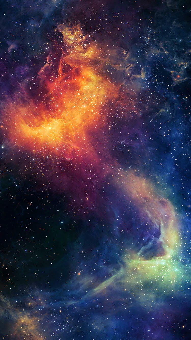 Galaxy 宇宙 Iphone6壁紙 Wallpaperbox