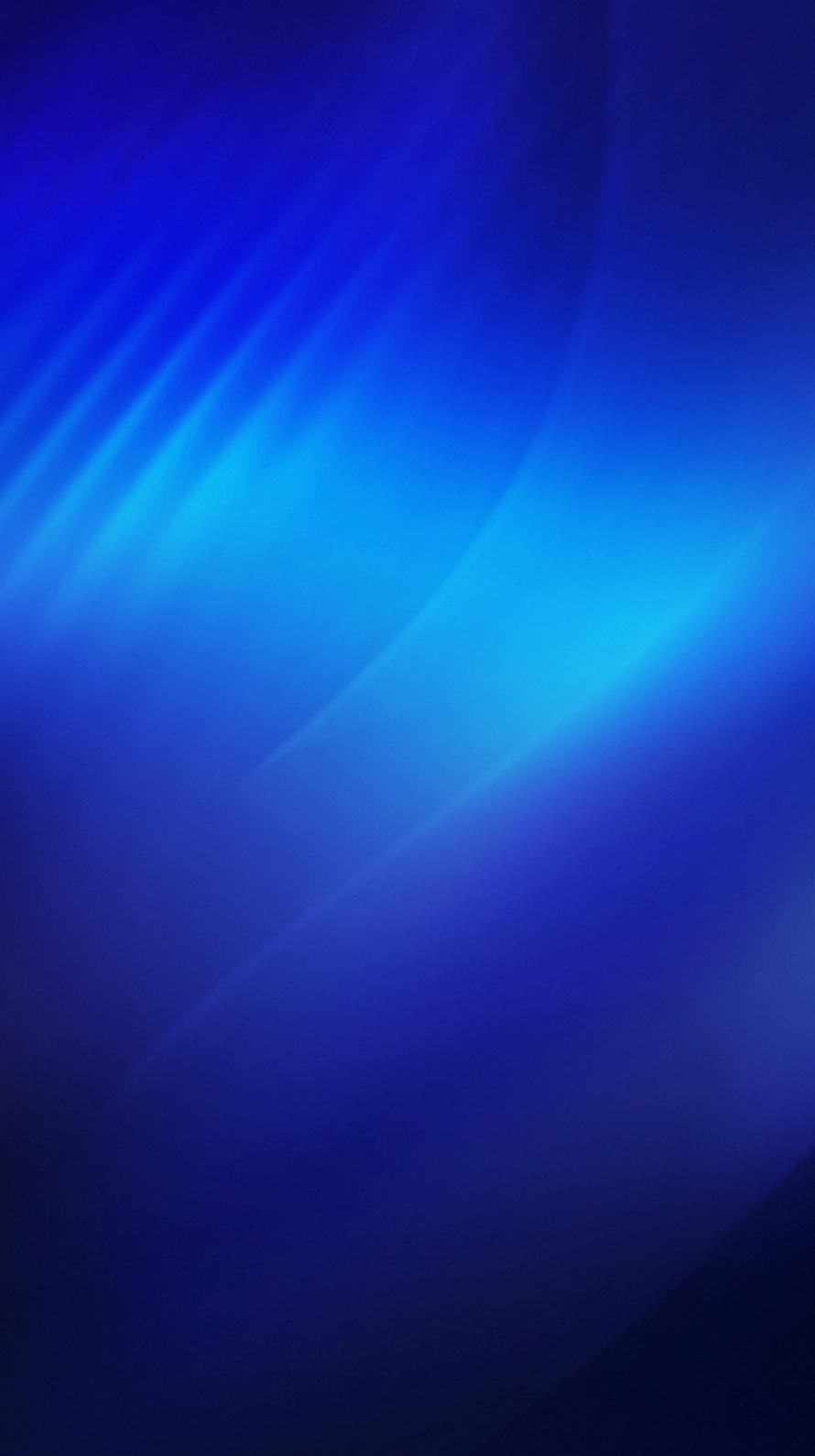 光沢のある青 iPhone6壁紙