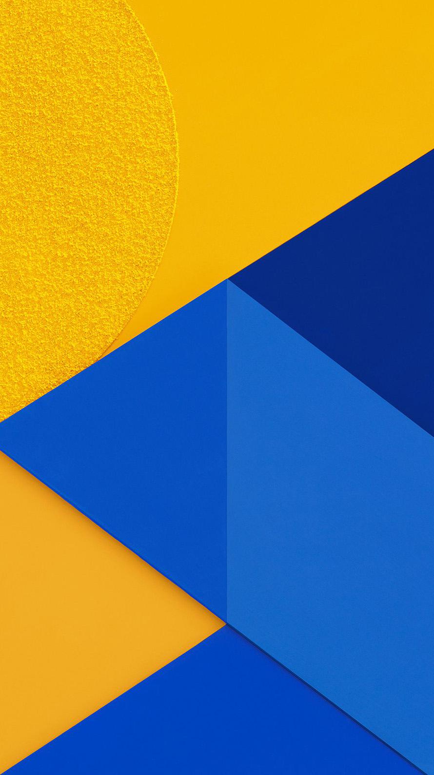 青と黄色の交わるiphone6壁紙 Wallpaperbox