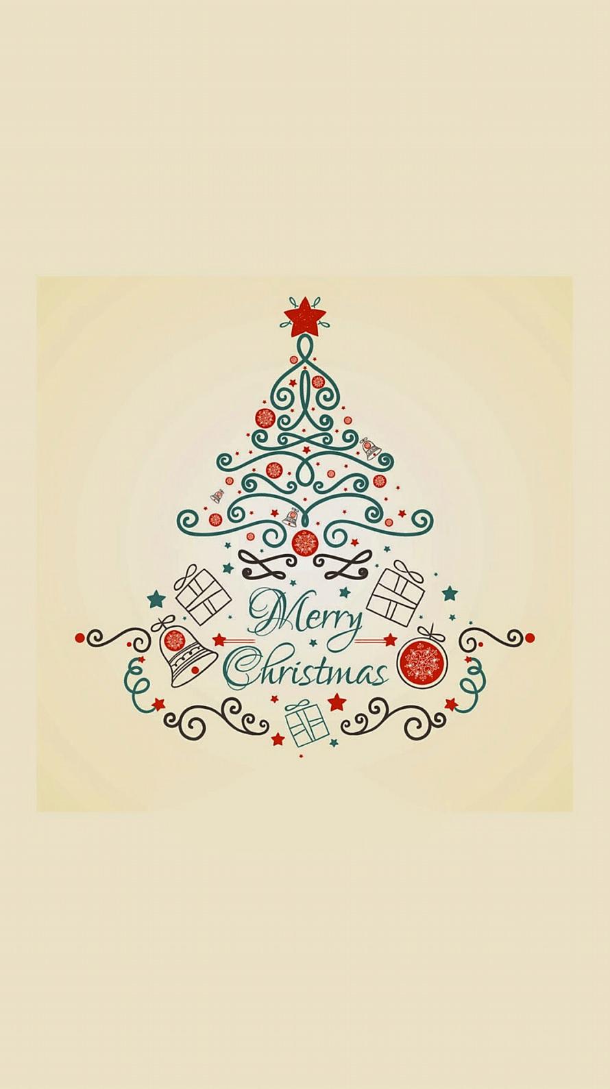 メリークリスマス Iphone6壁紙 Wallpaperbox