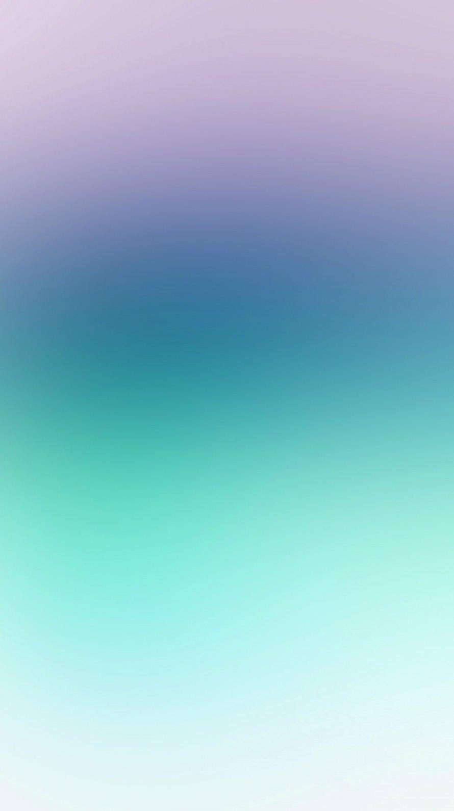 紫と緑の淡いグラデーション iPhone6壁紙