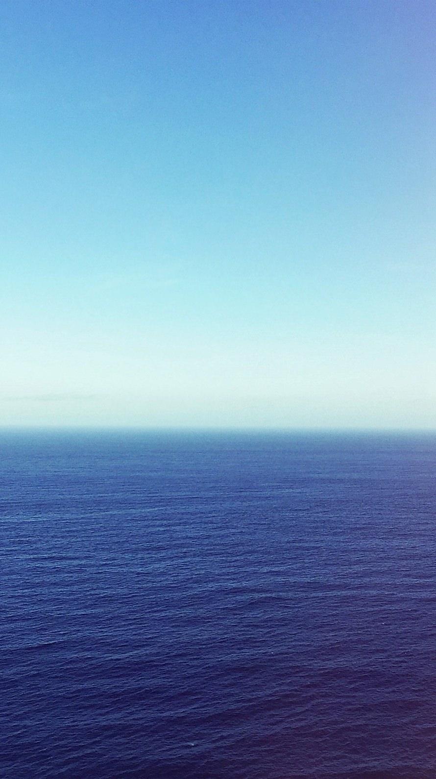 静かな海 凪 iPhone6壁紙