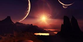 星・月・宇宙の壁紙#4サムネイル